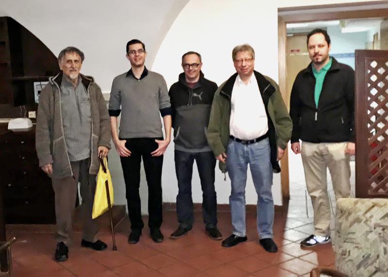 Schachverein Korneuburg Mannschaft Erste Klasse Weinviertel Februar 2017