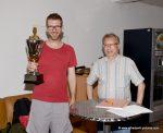 Wanderpokalübergabe an Florian Piringer (KOBURG OPEN - Sieger 2017)