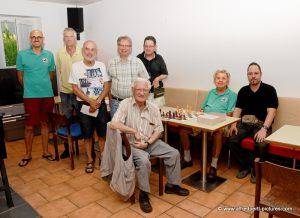 80 Geburtstag von Hubert Holzinger beim Schachverein Korneuburg
