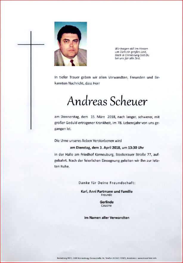 Parte Scheuer Andreas