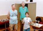 Schachverein Korneuburg - Jugendmeisterschaft 2018 - Kurt Broneder, Hans Haider und Tobias Engel