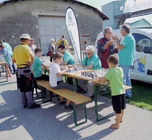 Schachverein Korneuburg am Kinderstadtfest 2018